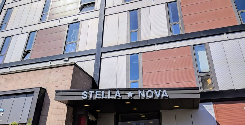 Exterior of the Stella Nova building